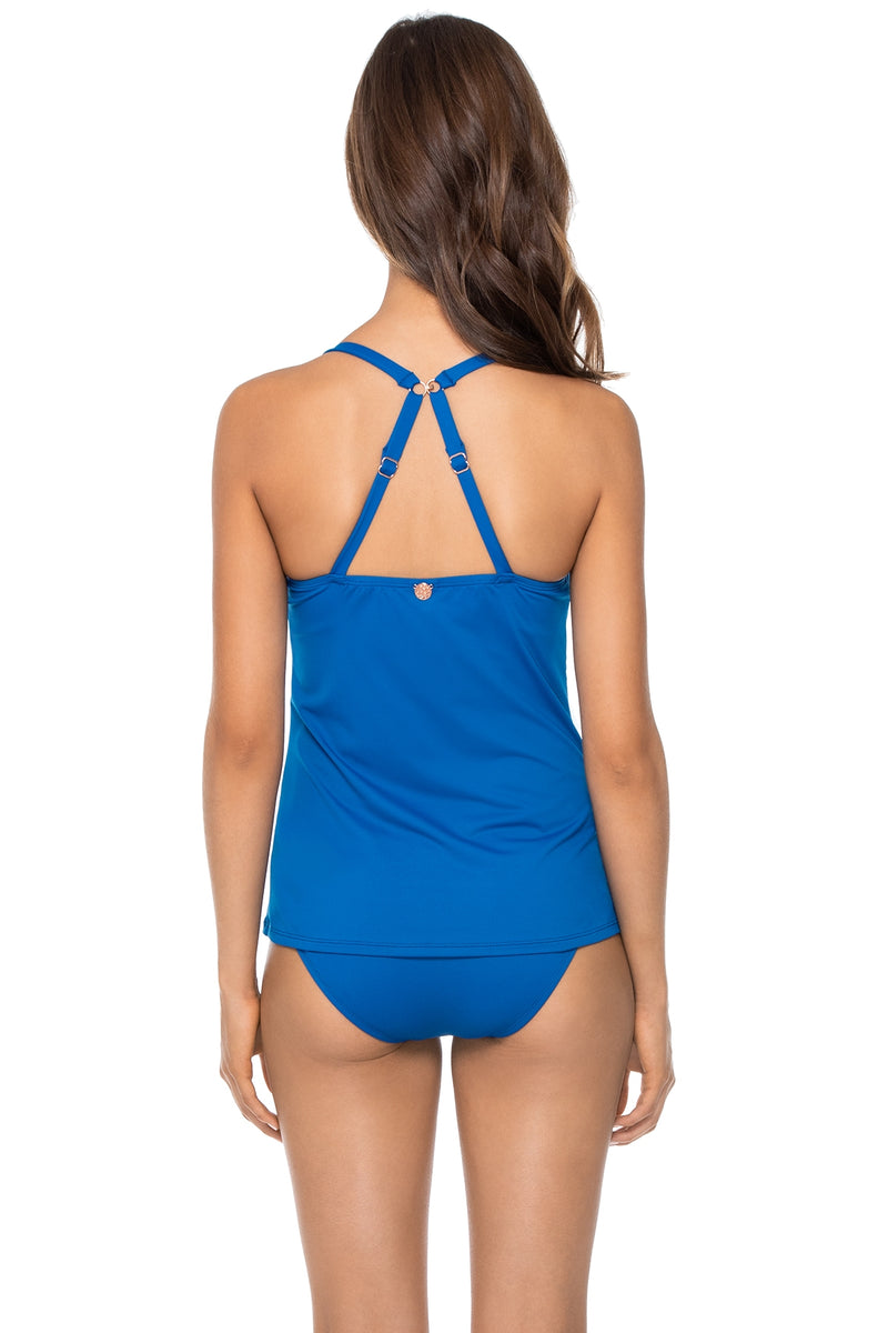 Swim Systems Nile Blue Crossroads Underwire Tankini