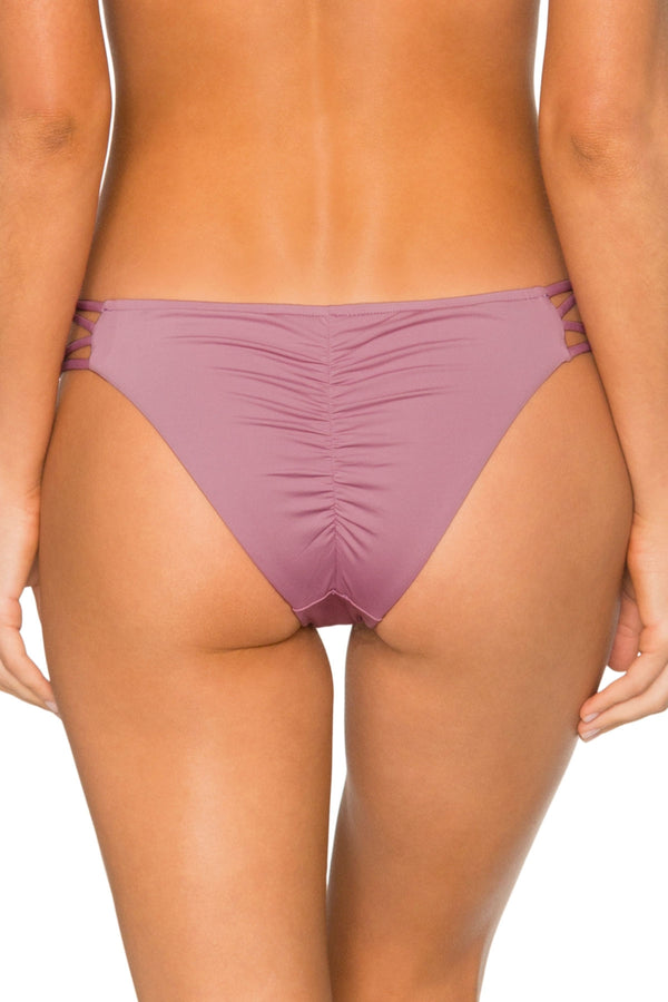 B. Swim Purple Sage Palm Pucker Pant Bottom