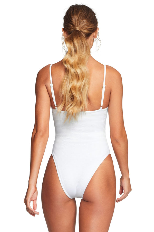 Vitamin A White EcoTex Jenna One Piece