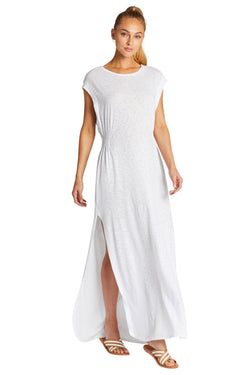 Vitamin A White EcoCotton™ Florence Dress