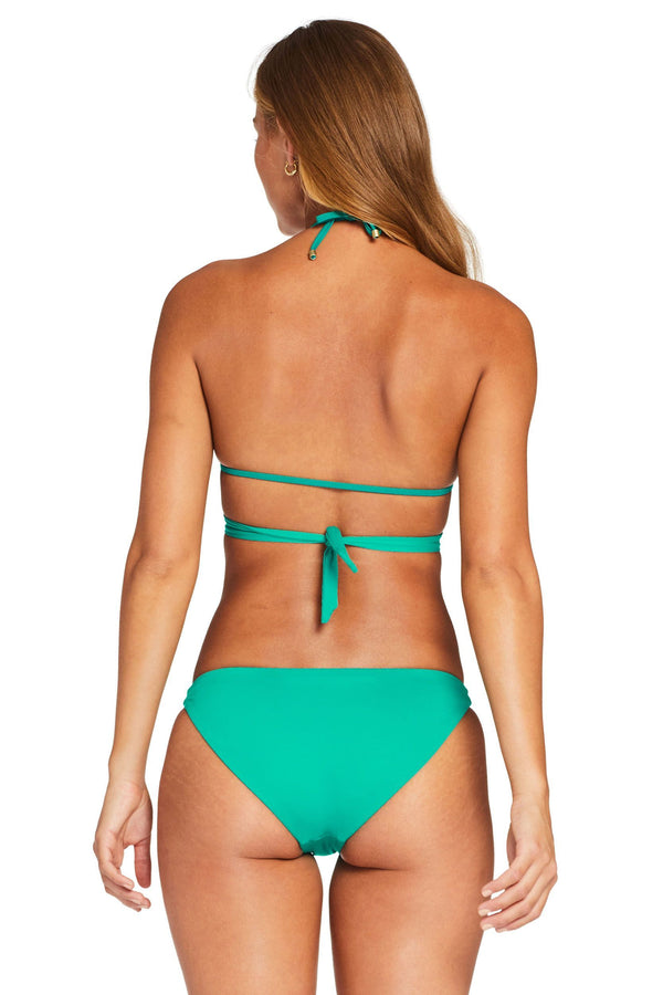 Vitamin A Emerald EcoLux™ Milana Tie Side Top
