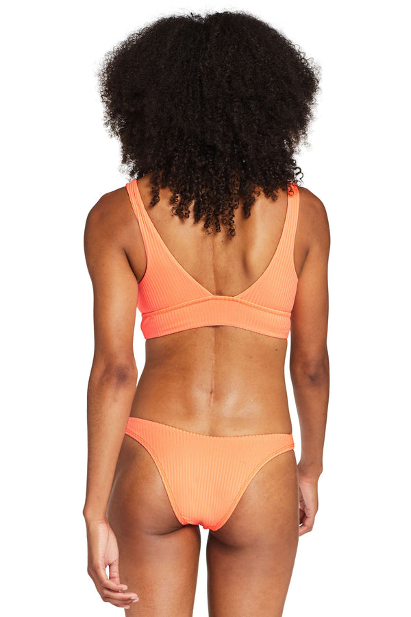 Vitamin A Day Glow EcoRib™ California High Leg Bottom