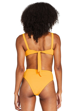 Vitamin A Iced Mango EcoRib™ Sienna High Waist Bottom