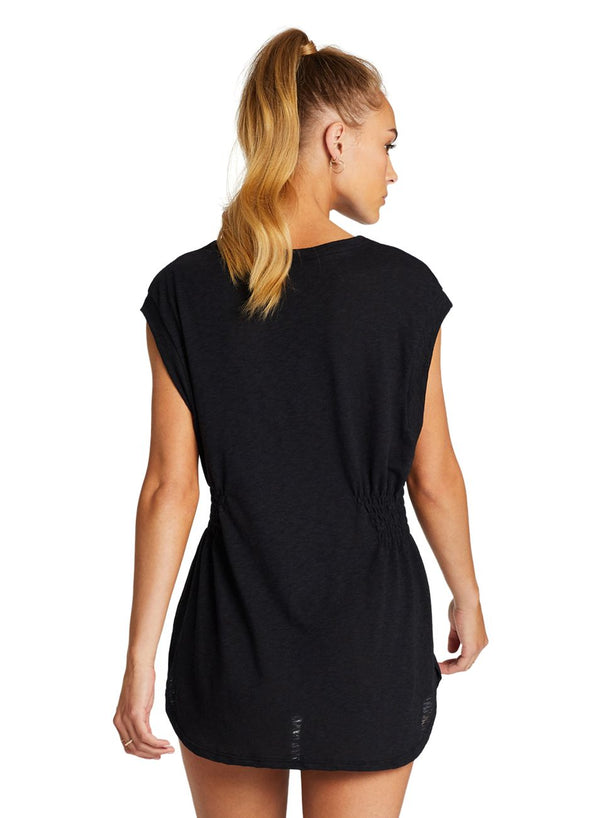 Vitamin A Black EcoCotton™ Swami Shirt