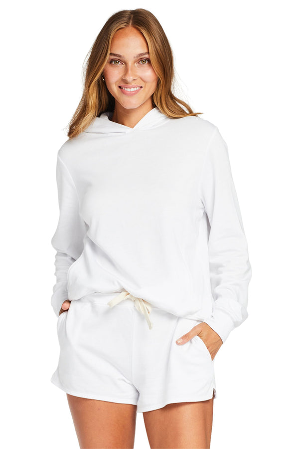 Vitamin A White Ecosoft Emery Fleece Hoodie