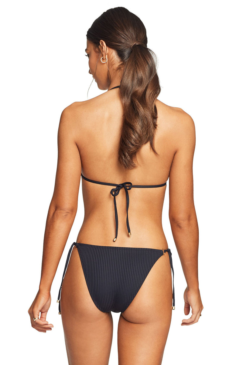 Vitamin A Black EcoRib™ Tara Tie Side Bottom