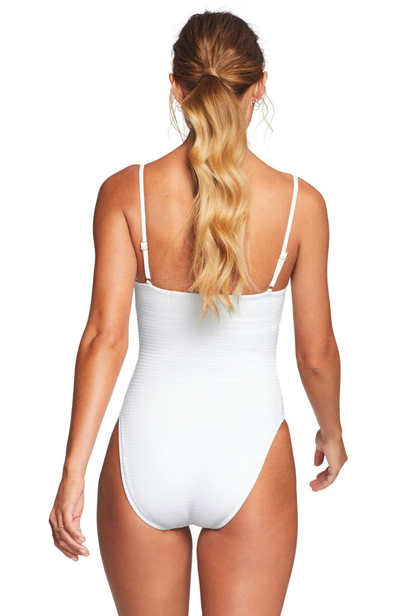 Vitamin A White EcoTex Jenna One Piece Full Cut