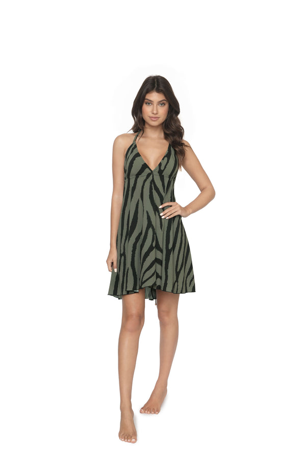 PilyQ Tiger Lily Gianna Dress