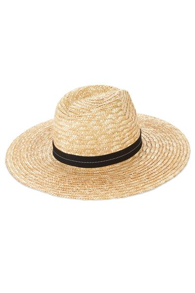 Vitamin A Natural/Black Band Provence Hat