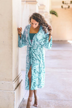 Lotus and Luna Catalina Island Maxi Lace-up