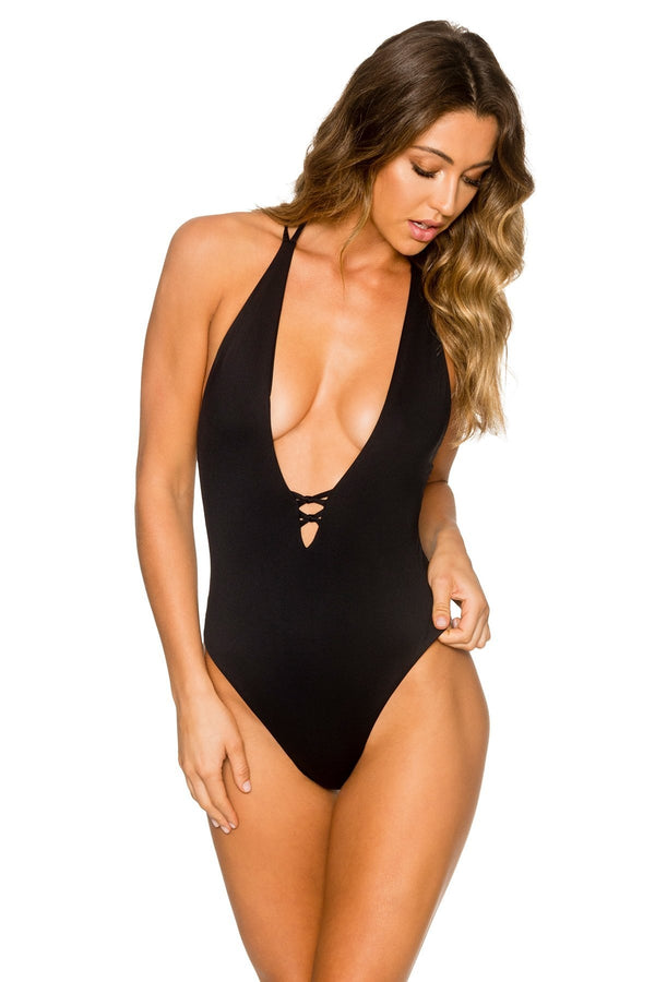B. Swim Midnight Lush One Piece