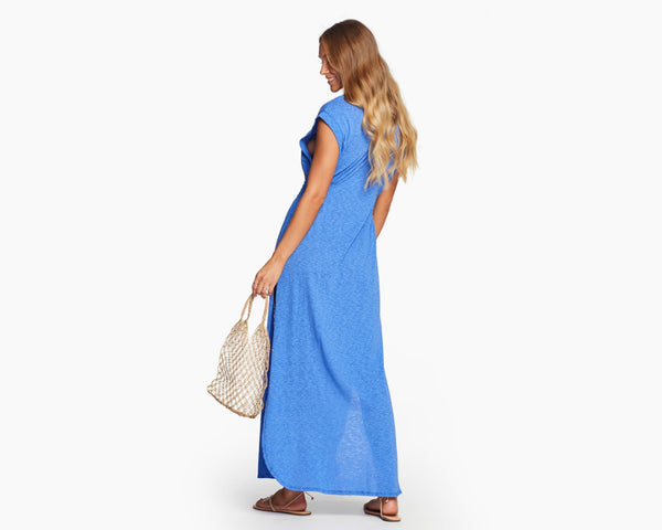 Vitamin A Spa Blue EcoCotton Florence Dress