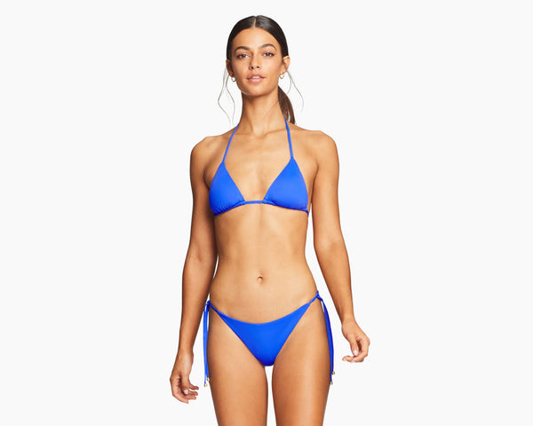 Vitamin A Spa Blue EcoLux Gia Reversible Triangle Top