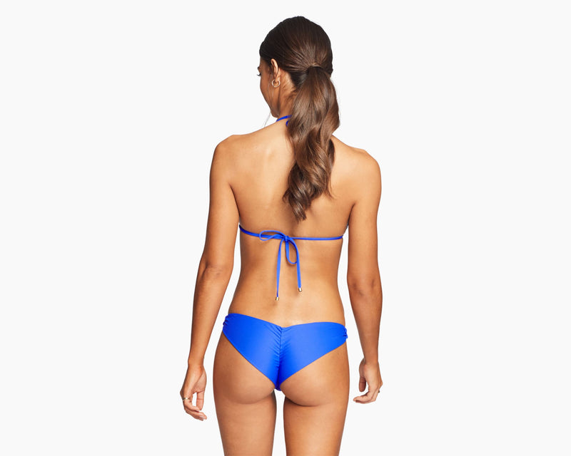 Vitamin A Spa Blue EcoLux Samba Ruched Back Bottom