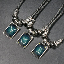 Load image into Gallery viewer, Zodiac Necklace Non Glowing
