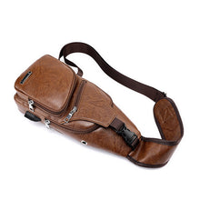 Load image into Gallery viewer, Leather Sling Bag
