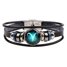 Load image into Gallery viewer, Zodiac Bracelet with Clasp