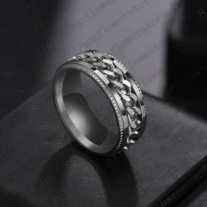 Rotating Chain Ring
