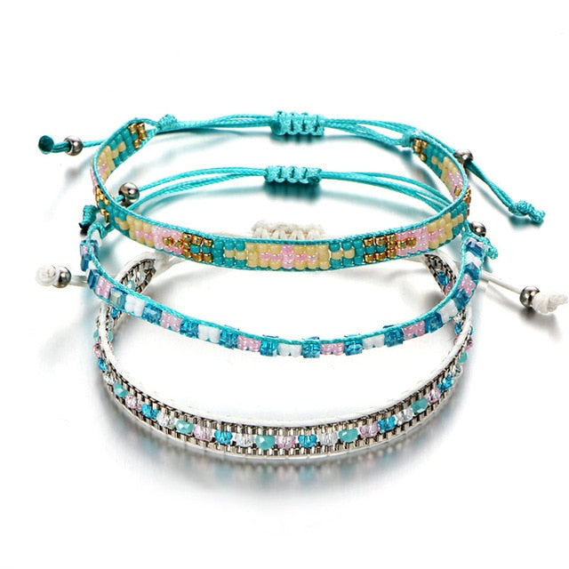 Crystal Beaded Bracelets
