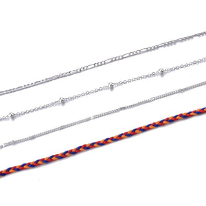 Retro Anklet Set