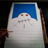 Limited Edition Grampa Screenprint - Signed
