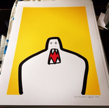 Limited Edition Boo! Screenprint - Signed