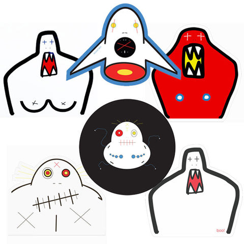 Creeps Sticker 6 Pack