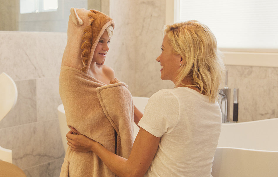 Leo the Lion Hooded Towel