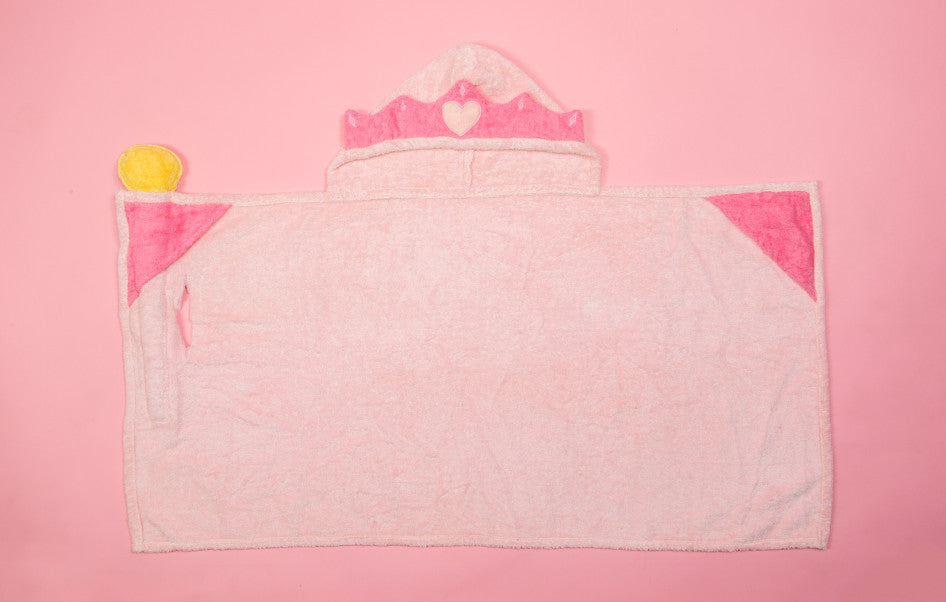 Princess Hooded Towel