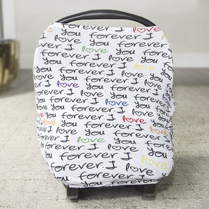 Love you Forever Car Seat Canopy