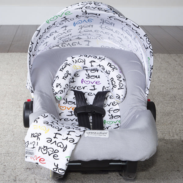 Love you Forever Car Seat Set