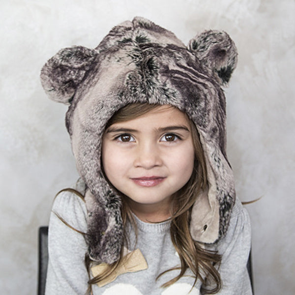 Koala Bear Faux Fur Hat