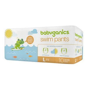 Babyganics Swim Pants, Large, 10 Count