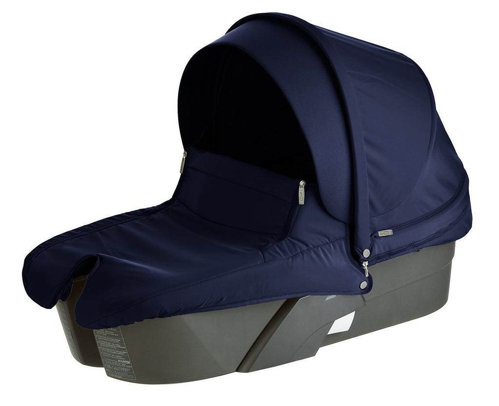 Stokke Xplory Carry Cot - Deep Blue- Limited to 1 per customer