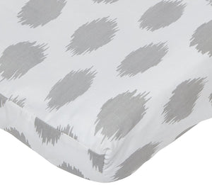 Sweet Potato Swizzle Changing Pad Cover - Pink/Grey/White- Limited to 1 per customer