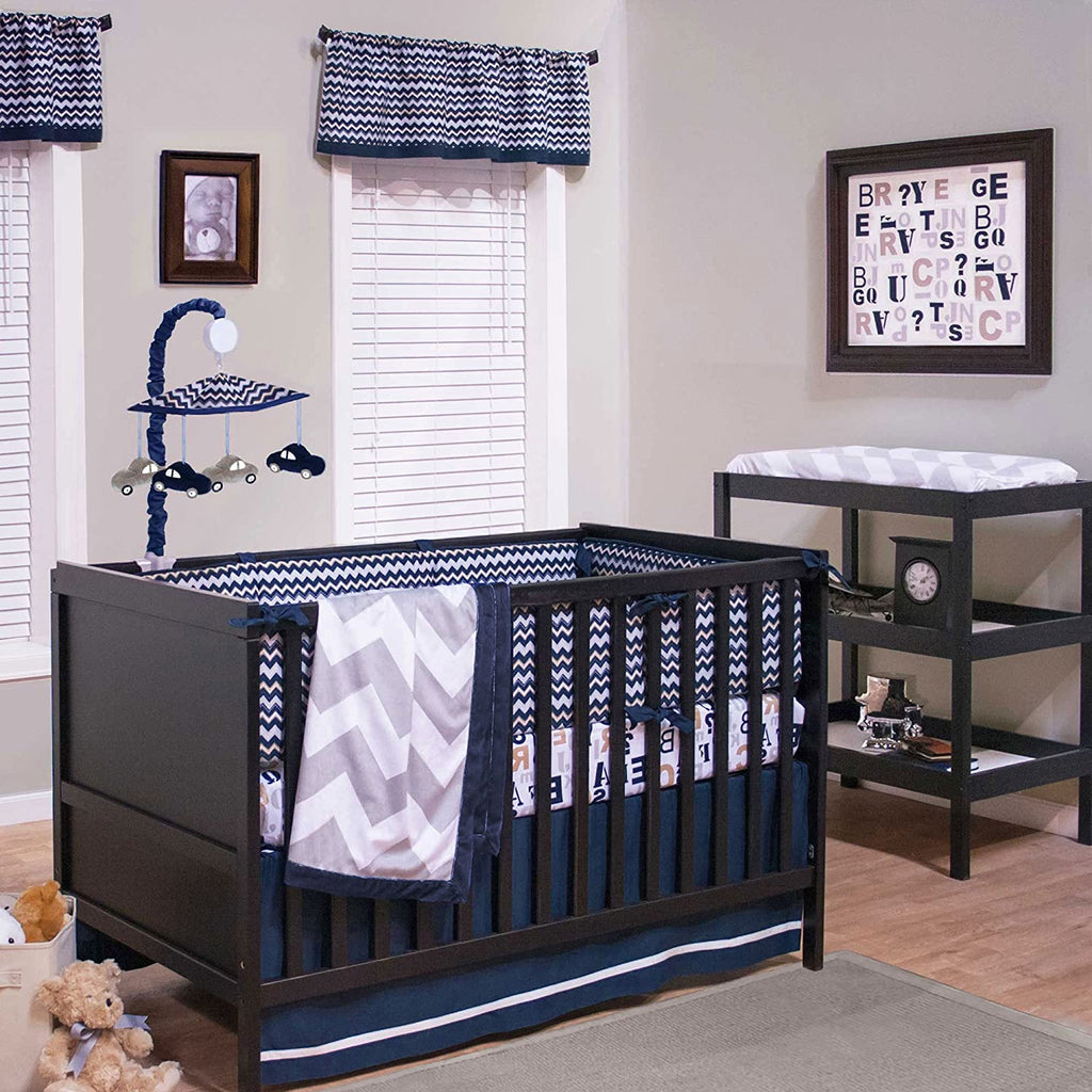 True Baby Quinn 3-Piece Crib Bedding Set- Limited to 1 per customer