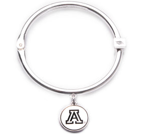 Arizona Wildcats Hinge Bangle Bracelet