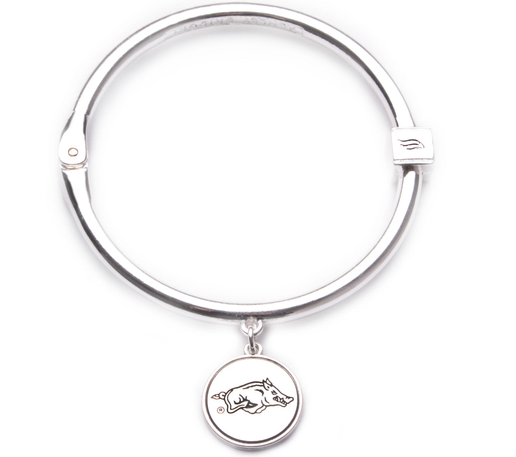 Arkansas Razorback Bangle Bracelet