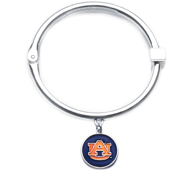 Auburn Tigers Hinge Bangle Bracelet