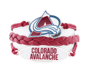Colorado Avalanche Bracelet