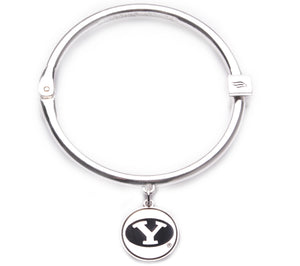 BYU Cougars Hinge Bangle Bracelet