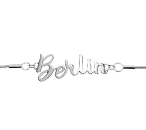Jet Set Collection - .925 Sterling Silver Berlin