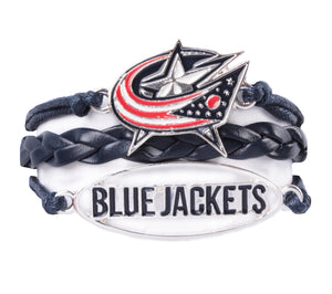 Columbus Blue Jackets Bracelet