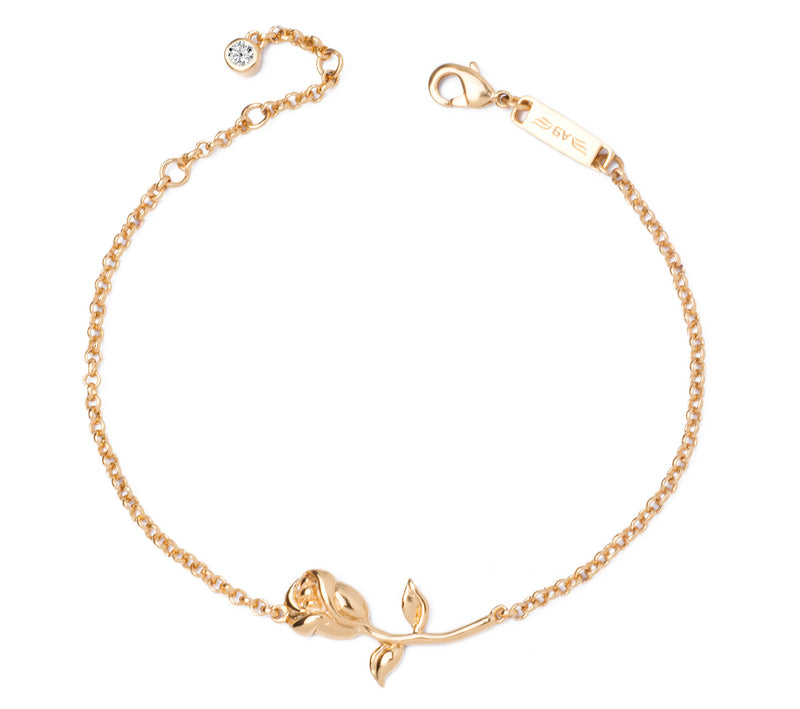 Forbidden Rose 14K Gold Plated Bracelet