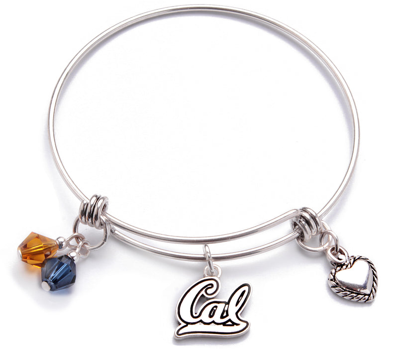California Golden Bears Bangle Bracelet