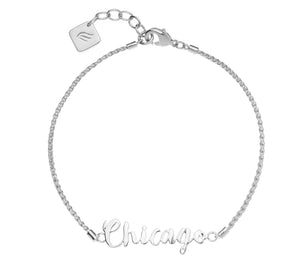 Jet Set Collection - .925 Sterling Silver Chicago
