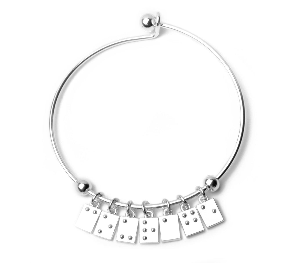 Courage Braille Bracelet