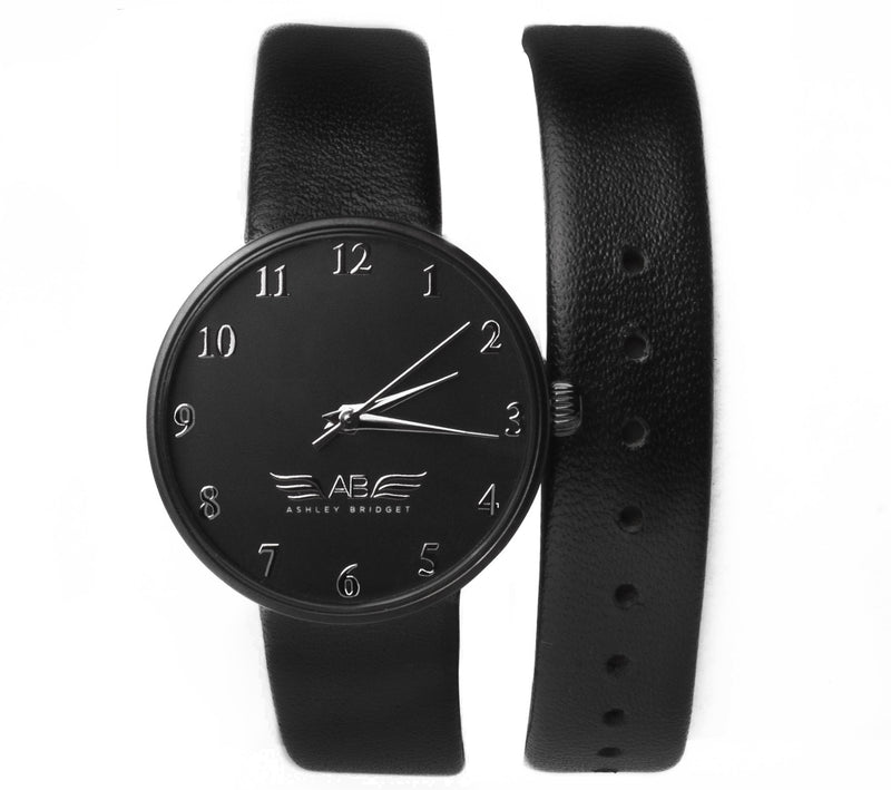 Black Wrap Around Watch