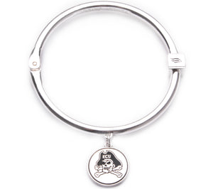 East Carolina Pirates Hinge Bangle Bracelet