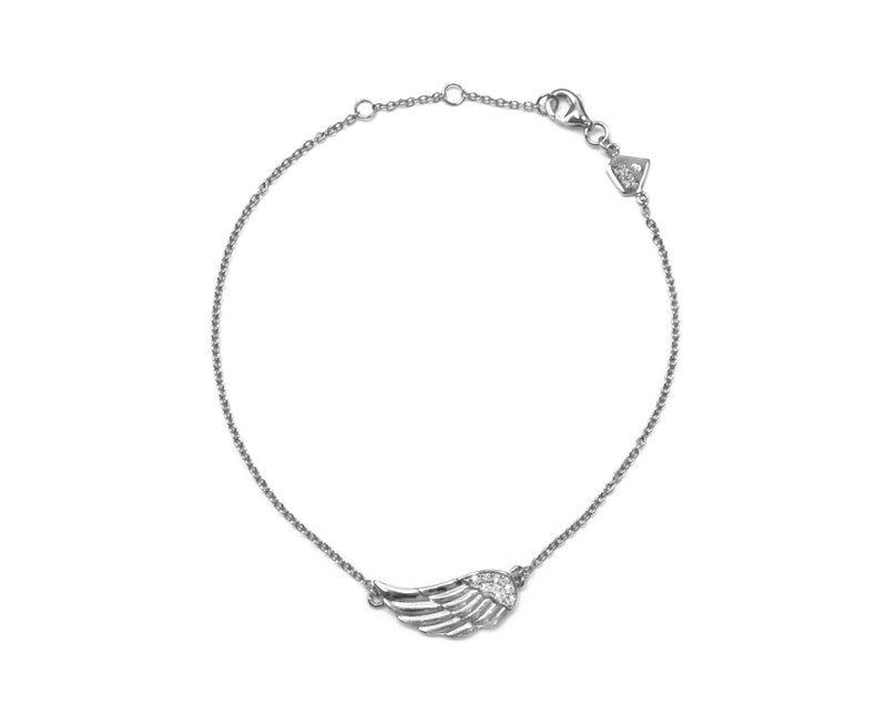 Diamond Angel Wing Bracelet (Includes 10 Diamonds)